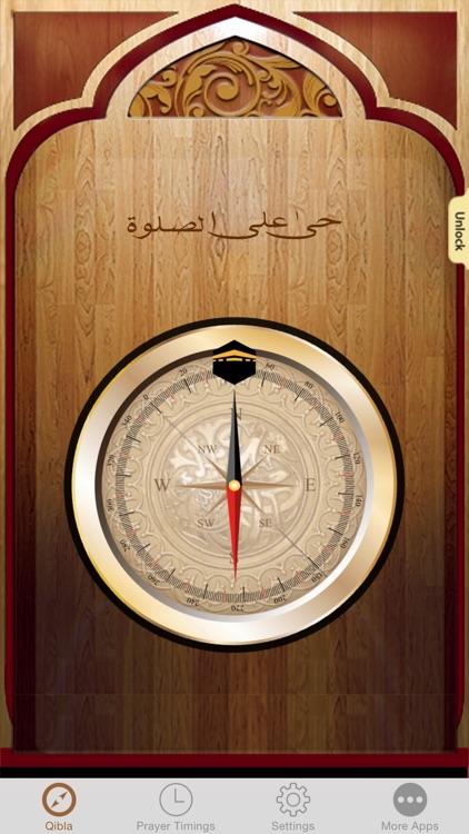 Islamic Qibla - Muslim Prayer Times, Athan Ramadan screenshot-3