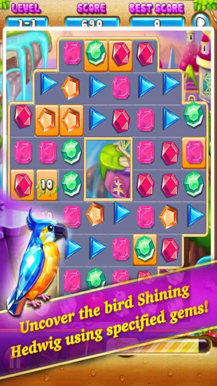Jewels Adventure- Match3 Puzzle