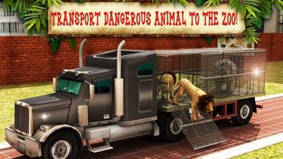 動物園の動物の輸送トラックの運転、駐車場マニアのおすすめ画像1