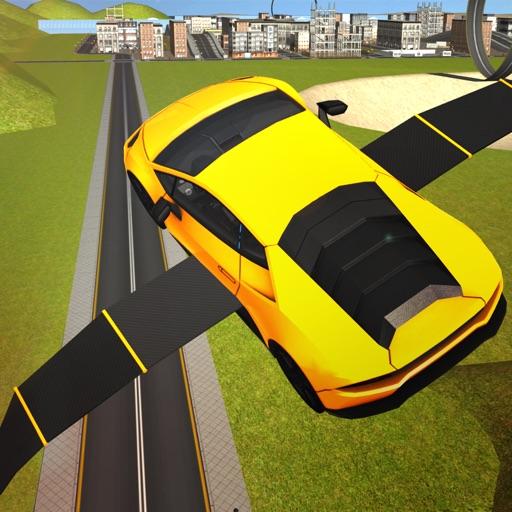 Flying Muscle Car simulator iOS App