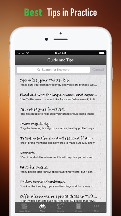 How to market a Business on Twitter:Marketing Tips and Social Media Guide screenshot-3