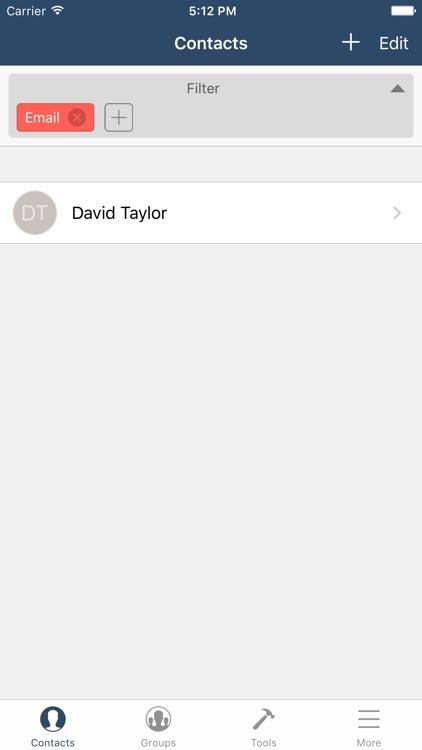 Contact Fixer screenshot-3
