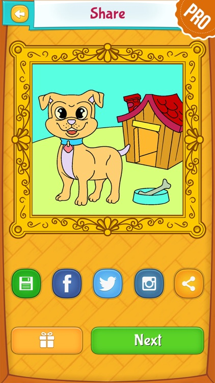 Dog Coloring Pages - Puppy Coloring Games for Boys and Girls PRO screenshot-3