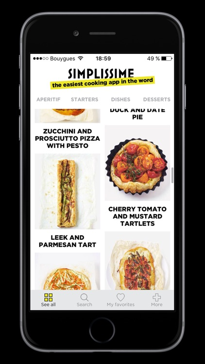 Simplissime: The easiest cooking app in the world