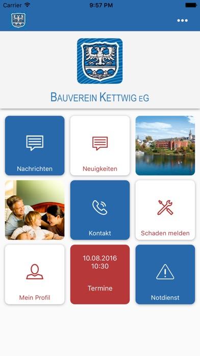 Bauverein Kettwig direkt screenshot