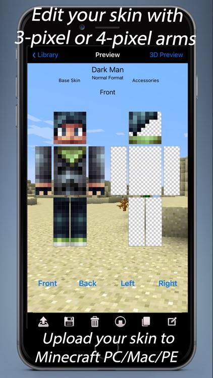 Skin Designer for Minecraft screenshot-3