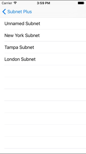 Subnet Plus - Subnet Calculator on the App Store