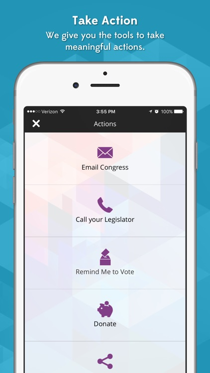 HearMyVoice-Mobile democracy for the civic minded. screenshot-4
