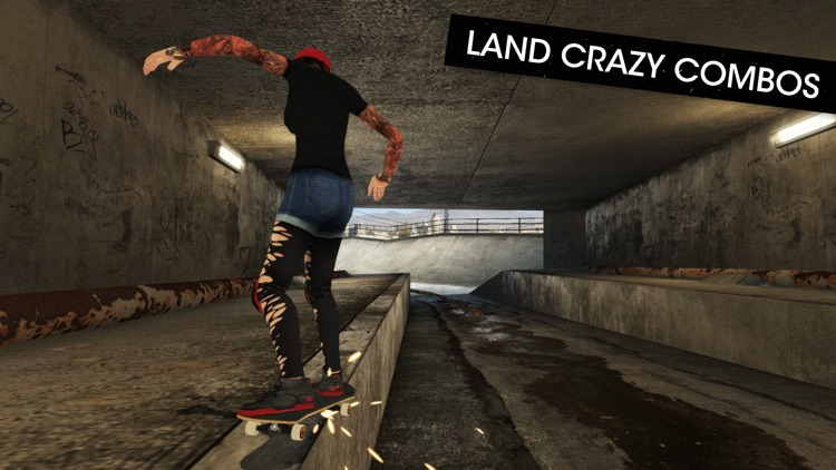 Skateboard Party 3 ft. Greg Lutzka screenshot-3