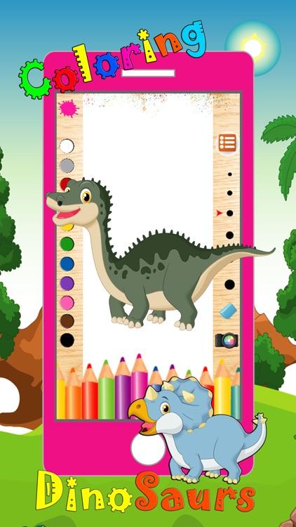Dinosaur Coloring Book 2