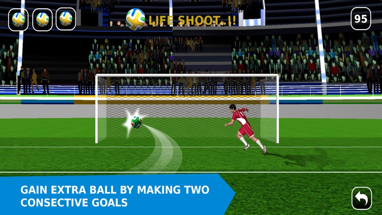 Flick Soccer 2016 Pro – Penalty Shootout Football Game screenshot-3