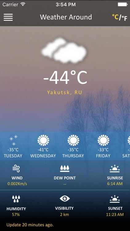 Weather Around - Your Local City Weather Guide screenshot-3