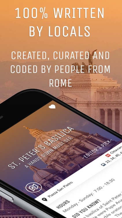Rome Travel Guide with City Tours and Offline Map