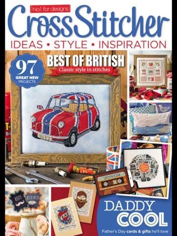 Скриншот из CrossStitcher Magazine | stitching and colourful designs in home furnishings