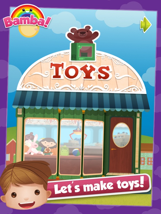 Bamba Toys (Free) - Kids make their very own action figure and dress them up screenshot-0