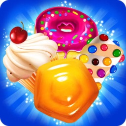 Sweet Bakery - 3 match Cookie Mania puzzle splash game