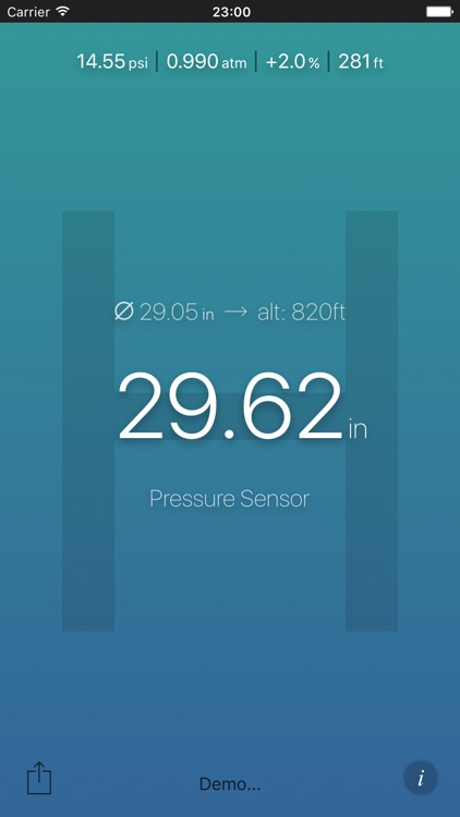 Air Pressure App screenshot-0