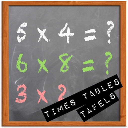 Times Tables Trainer Brain Game Universal