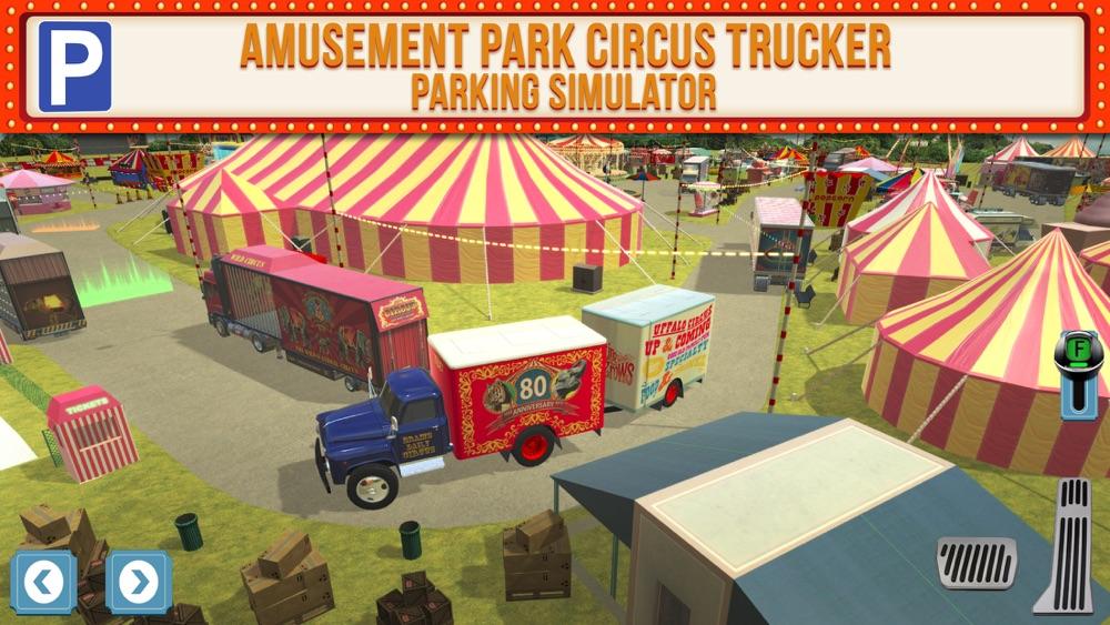 Amusement Park Fair Ground Circus Trucker Parking Simulator Cheat Codes