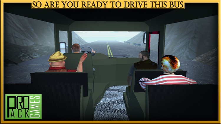 Mountain Bus Driving Simulator Cockpit View - Dodge the traffic on a dangerous highway