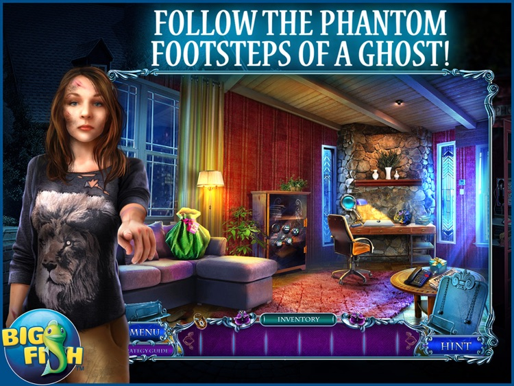 Mystery Tales: Her Own Eyes HD - A Hidden Object Mystery (Full) screenshot-0