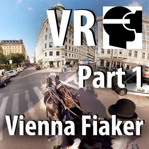 VR Virtual Reality Through Vienna in a Horse-Drawn Carriage - Fiaker Part 1