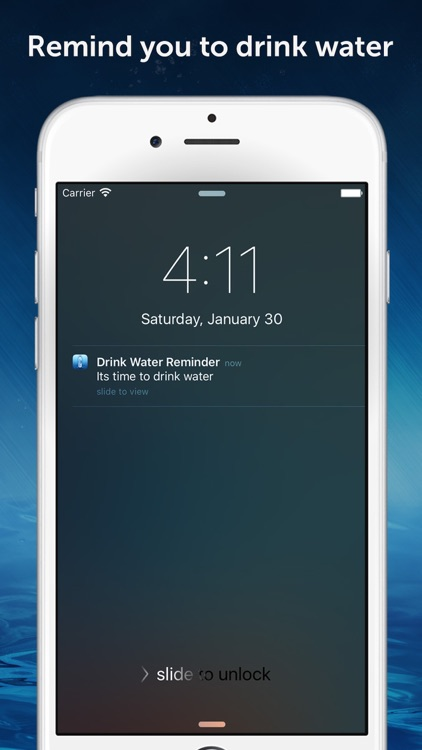 Drink Water Reminder Pro : Daily hydration tracker, monitor and counter manager screenshot-4