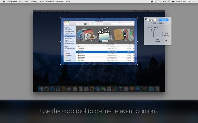 e037c8f5d6fb Claquette on the Mac App Store