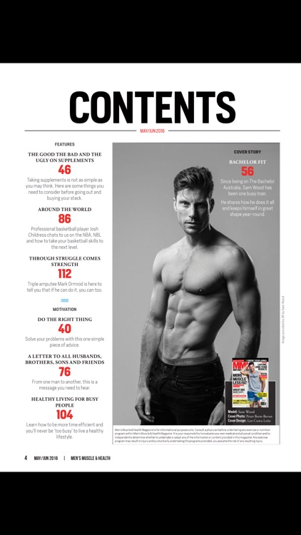 Men's Muscle & Health