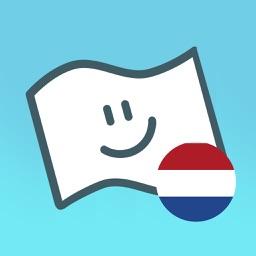 Flag Face Netherlands