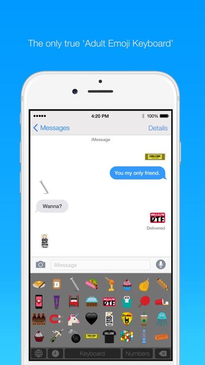 Adult Emoji Keyboard