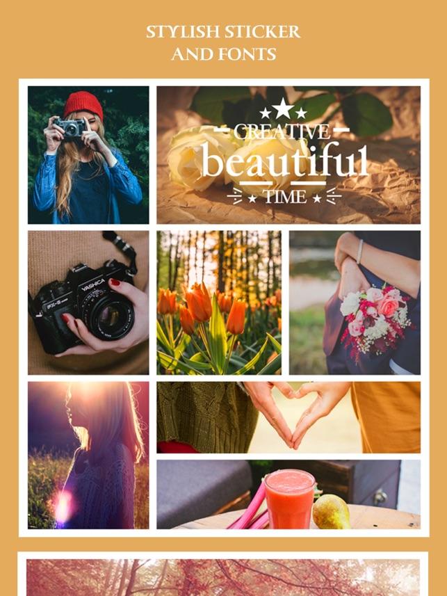 Split Lab Collage Pro - Foto-Editor, Collage Maker & kreative Design-App Screenshot
