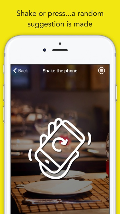 Randow: Nearest Restaurant & Takeaway Finder With Map Support – Discover Random Local Food & Drink Nearby screenshot-3