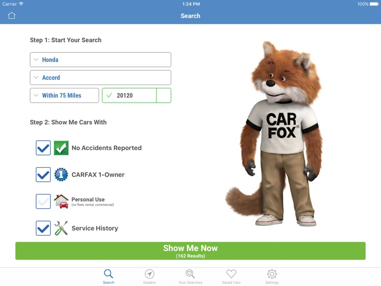 CARFAX – Find Used Cars for Sale for iPad by CARFAX, Inc