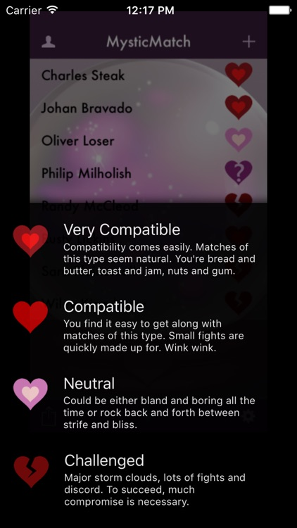 MysticMatch - Fun and Love with Numerology screenshot-3