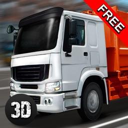 City Garbage Truck Driving Simulator 3D