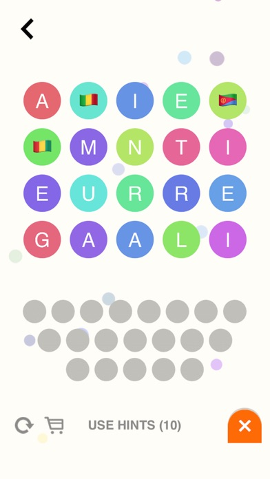 Flagbubbles! - Country Flag Word Whizzle Ruzzle Bubble Games-2