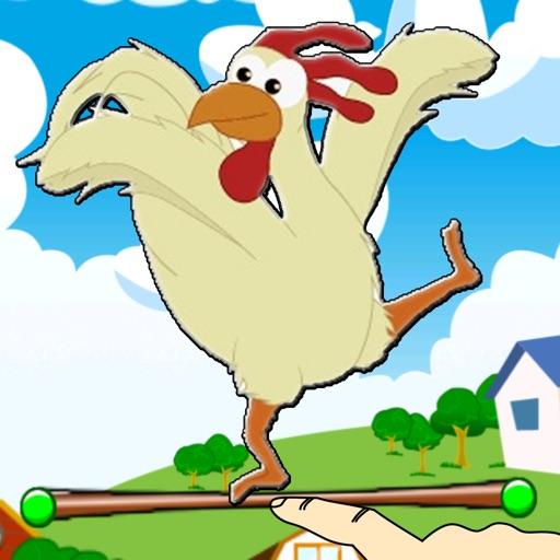 Farm Chicken Jump