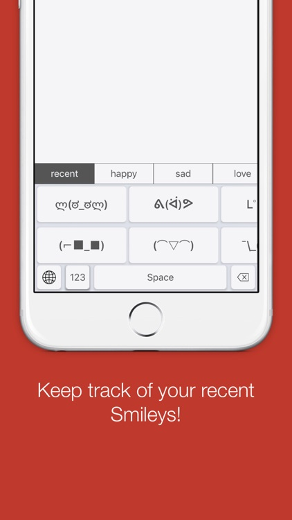 SmileyKey Lite - Smiley and Emoticon Keyboard