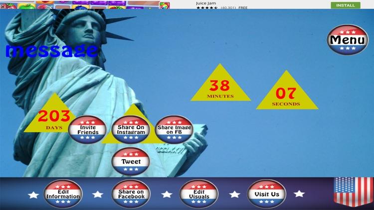 Presidential Countdown Free screenshot-4