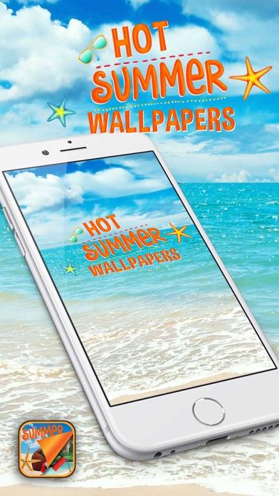 暑い夏壁紙 トロピカルビーチ背景画像を使用してのホームスクリーンを飾ります Iphoneアプリ Applion