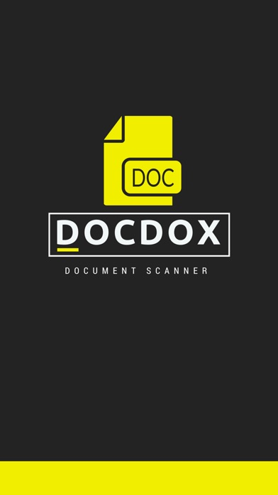 Docdox - Document Scanner Screenshot