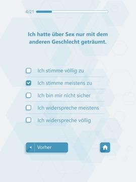 Sexuelle Orientierung Test - Persönlichkeitstests - App