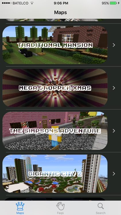 Best Maps for Minecraft  - Download Mine Maps for Pocket Edition screenshot-3