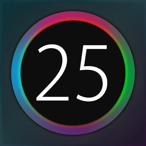 バースト 25 - 動体視力,動態視力,周辺視野,視野拡大,訓練,暇つぶしに