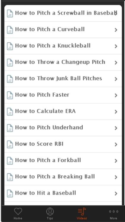 Baseball Tips - Baseball Strategy For Beginners screenshot-3