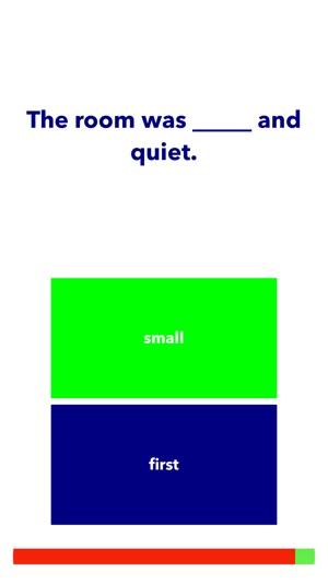 Adjectives - English Grammar Games Quiz