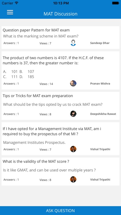 MAT 2016 Management Exam Prep MAT.1.0.0 screenshot-1