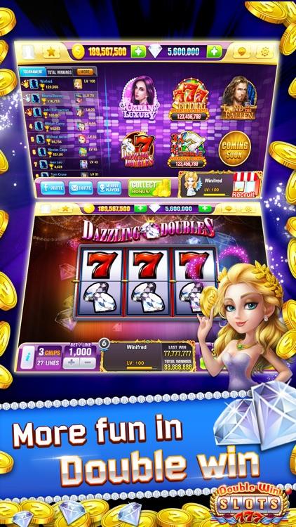 Double Win Slots™ - FREE Las Vegas Casino Slot Machines Game screenshot-3