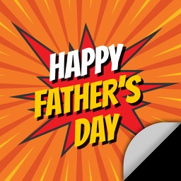 Fathers Day: Instant FREE Photo Sticker App